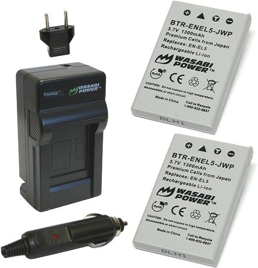 Original Nikon Mh-61 Cargador En-el5 Coolpix P80 P90 P100 P500 P5000 P5100 P6000