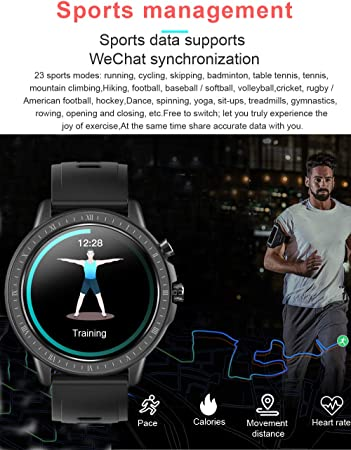 Voigoo Smartwatch,Reloj Inteligente Mujer Hombres niños con IP67 ...