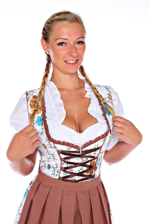 Lukas Dirndl Dress 3 pieces Authentic Bavarian Floral Exlusive (10)