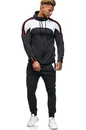 3c6ade6c578ab OneRedox Herren Jogginganzug Sportanzug Modell 1148  Amazon.de  Bekleidung