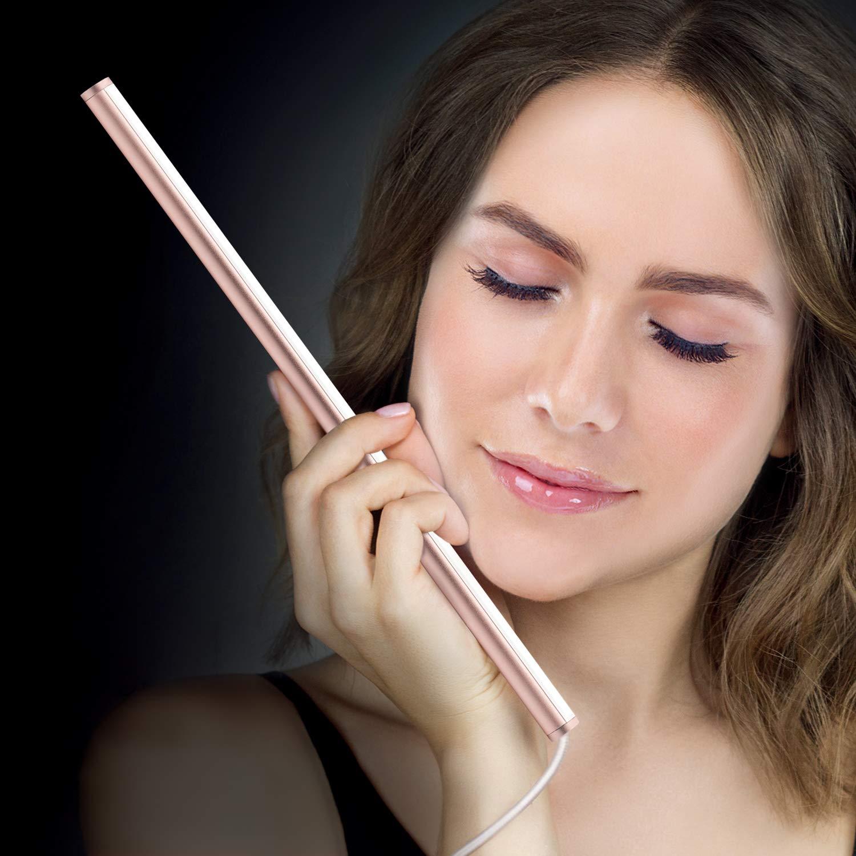 LED Vanity Mirror Light Kit, Portable Makeup Light, Bathroom Lighting Set for Vanity Table/Dressing Mirror, Dimmer & Adapter Included, USB Powered/Stepless Dimmable /6000K Daylight /300mm /Rose Gold