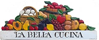 product image for Piazza Pisano Italian Kitchen Decor La Bella Cucina Sign