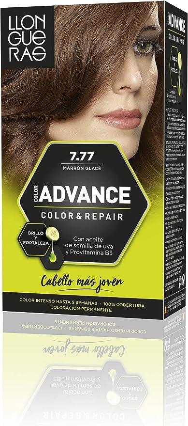 Llongueras Advance Tinte de Cabello Permanente Tono #7.77 ...