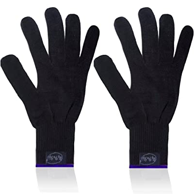 2 x PROFESSIONAL Heat Resistant GLOVE. BRAND NEW, Use for Curling / Flat iron By MyProStyler