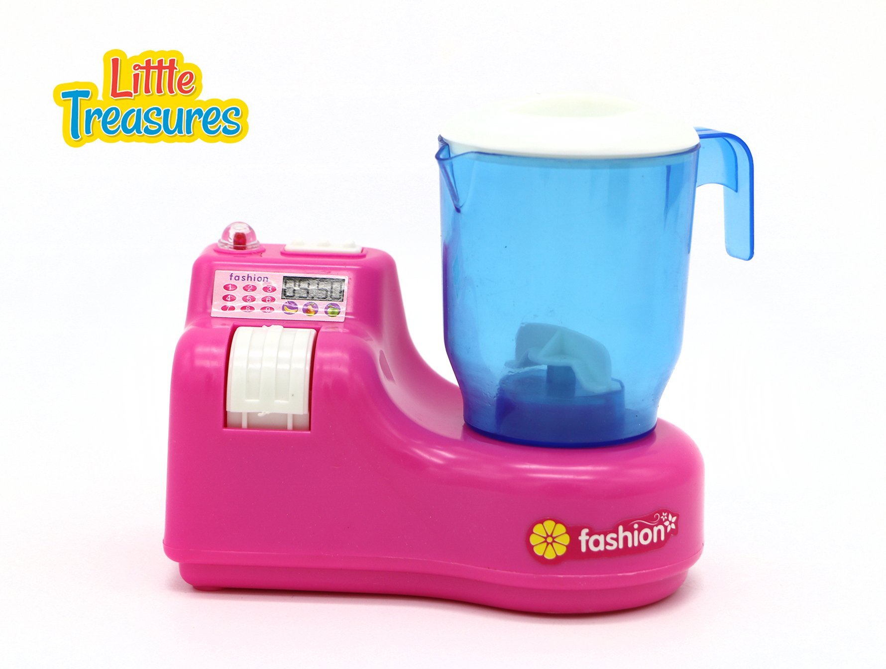Little Treasures Small Sized Toy Blender Kitchen Appliance Play Set by Little Treasures