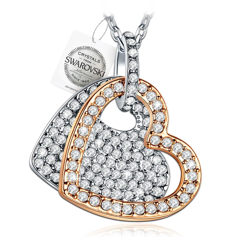 PAULINE MORGEN Siempre En Mi Corazón Collar para Mujer fabricados con cristales