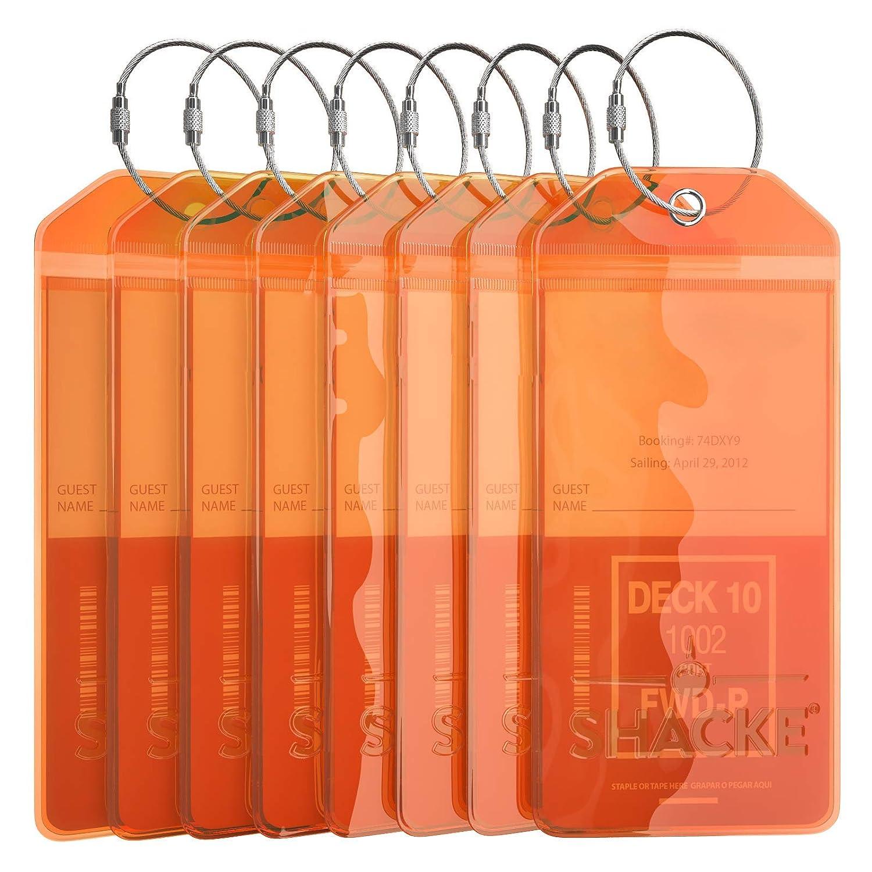 8 Pack - Orange