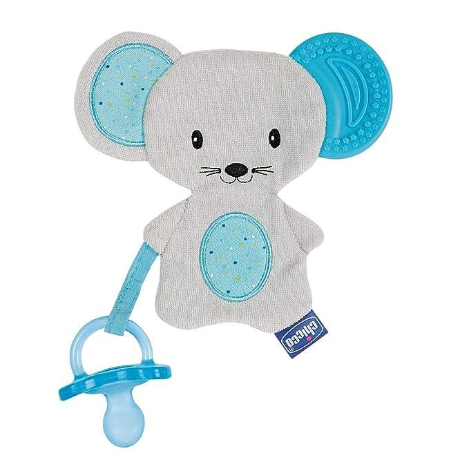 Chicco Fresh Friend - Mordedor y muñeco 3en1, 4 m+, azul ...