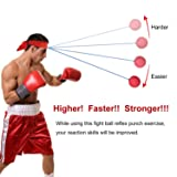 Harlan Reflex Boxing Ball on String with Headband
