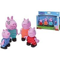 BIG 800057113 Bloxx Peppa Pig Peppa's Family - Mama en papa Wutz, Schorsch en Peppa