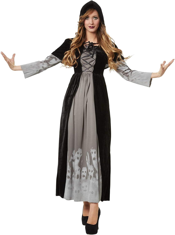 dressforfun 900509 - Disfraz de Mujer Maga Poderosa, Vestido de ...