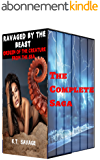 RAVAGED BY THE BEAST - THE CREATURE FROM THE SEA COMPLETE SAGA: A STEAMY PARANORMAL SHIFTER ROMANCE BUNDLE (English Edition)
