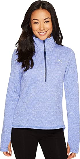 PUMA Womens Nocturnal 3 4 Zip Version at Amazon Women s Clothing store  b2ab14d50f