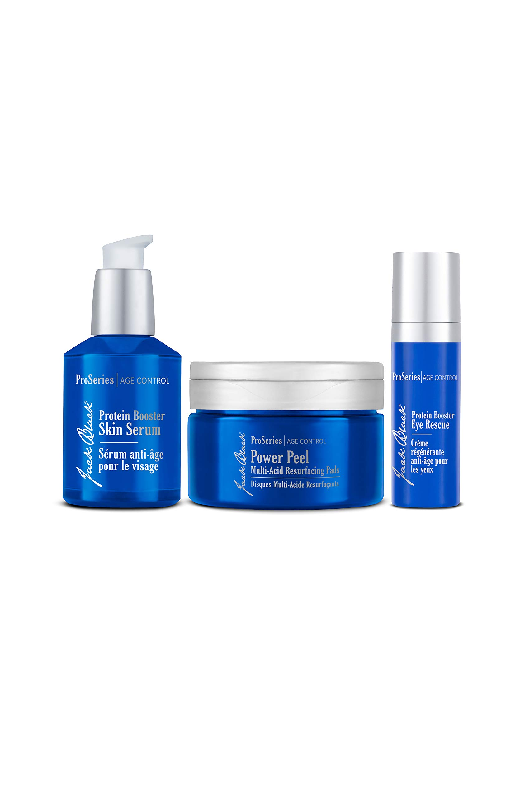 Jack Black - The Defensive Line Anti-Aging Triple Play - Pro Series Collection, Helps Reduce Visible Signs of Aging by Jack Black
