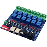 12 Channel 10A DMX512 Controller Relay Switch Converter