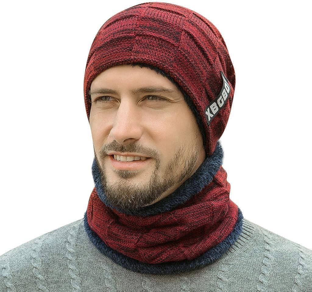 MIRRAY Unisex Winter Windshield Schal Hut kann als Schal und M/ütze verwendet Werden