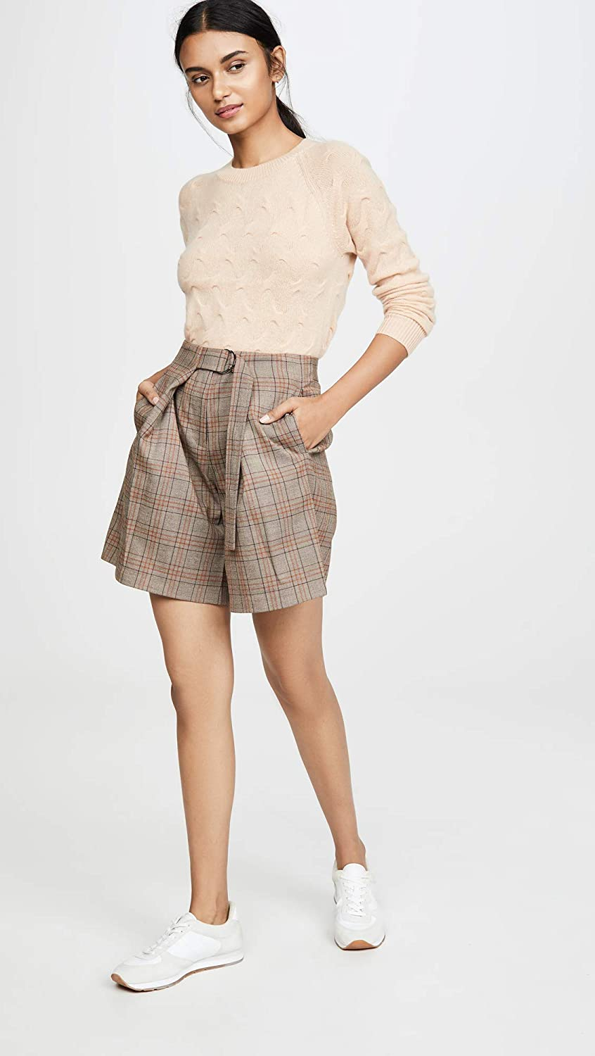 Theory Womens Tucked Cashmere Sweater