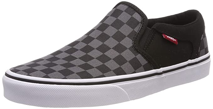 7f220d2e1e446c Amazon.com  Vans Unisex Classic Slip-On (Checkerboard) Skate Shoe ...