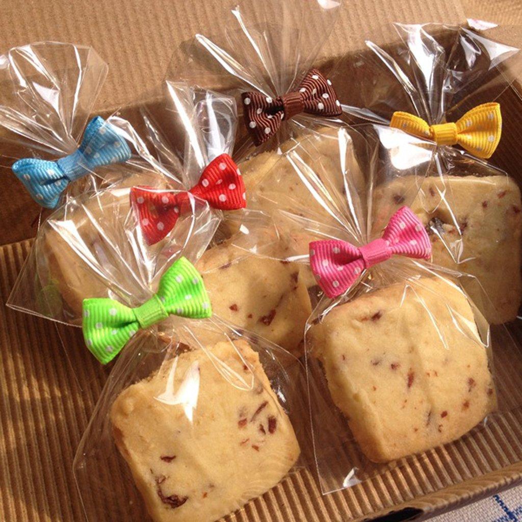 50pcs Metallic Binding Tape for cellophane Bag Biscuit Cookies Decoration