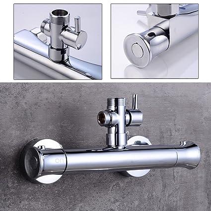 PRIT2016 Grifo termostatico Termostatico Ducha Termostato de Ducha Mezclador Termostático para Baño y Ducha, termostato