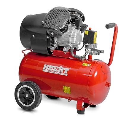 HECHT 2353 Compresor De Aire Comprimido Compresor con tanque de 50 L (8 bar,