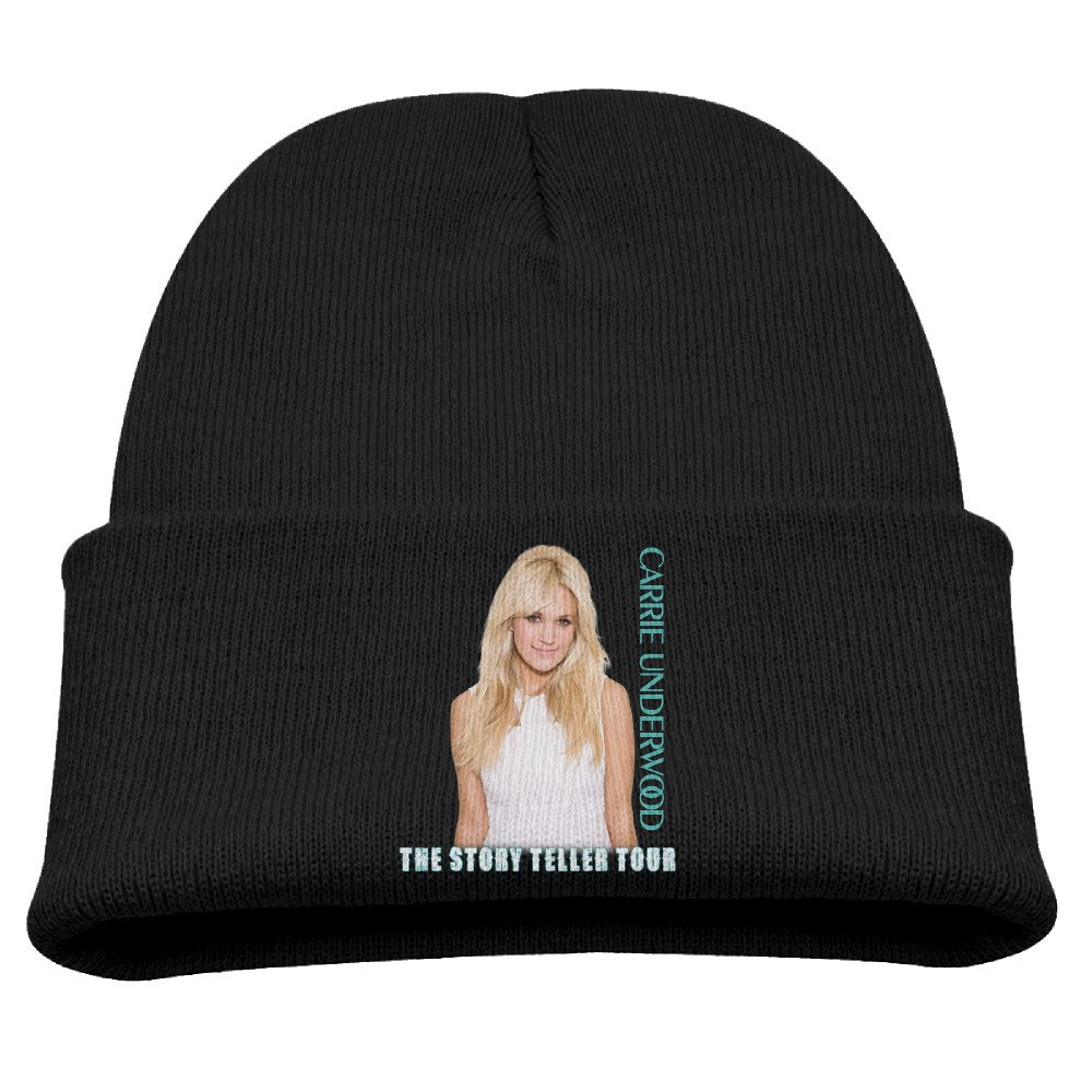Knit Beanie Cap Hat Carrie Underwood Storyteller Tour Winter Warm Children's