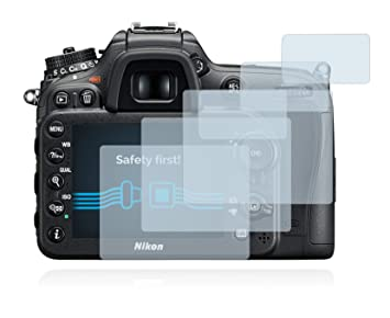 Savvies Protector de Pantalla para Nikon D7200 [6 Unidades]: Amazon.es: Electrónica
