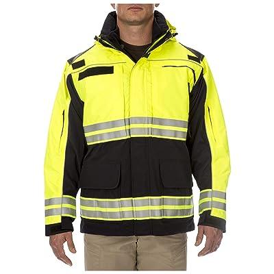 5.11 Tactical Men's Responder Hi-Vis Parka 48073: Clothing