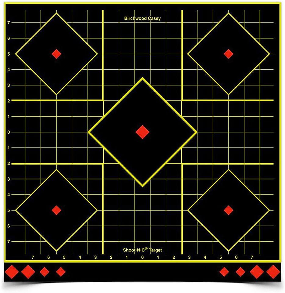 "Birchwood Casey Shoot-N-C 17.25"" Sight-in Target - 5 Targets"