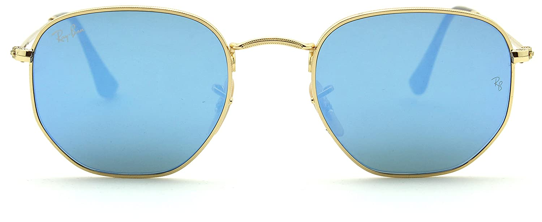 ac86819a7b Amazon.com  Ray-Ban RB3548N Hexagonal Flat Lenses Unisex Sunglasses 001 9O  - 51  Sports   Outdoors