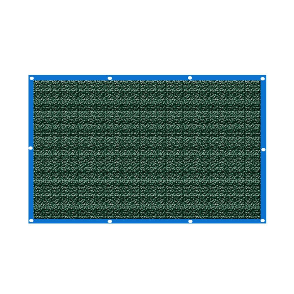 Dark vert-2x2m  LQQFF Filet d'ombrage, Maison Balcon Ombre Filet Fleur charnue Plante Isolation Net 6 Aiguille ombrage Net Parasol portable