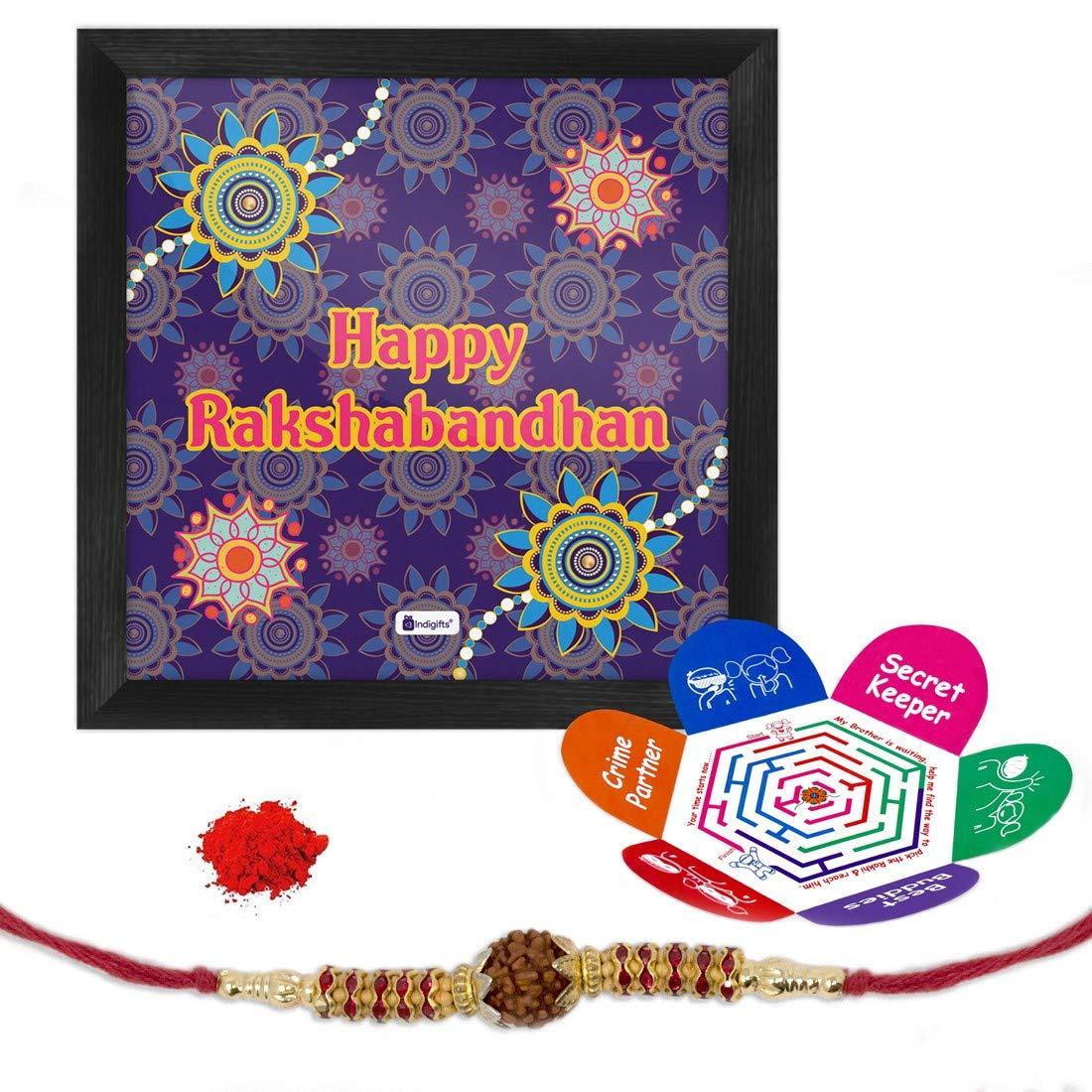 Indi ts Raksha Bandhan Gifts for Brother Happy