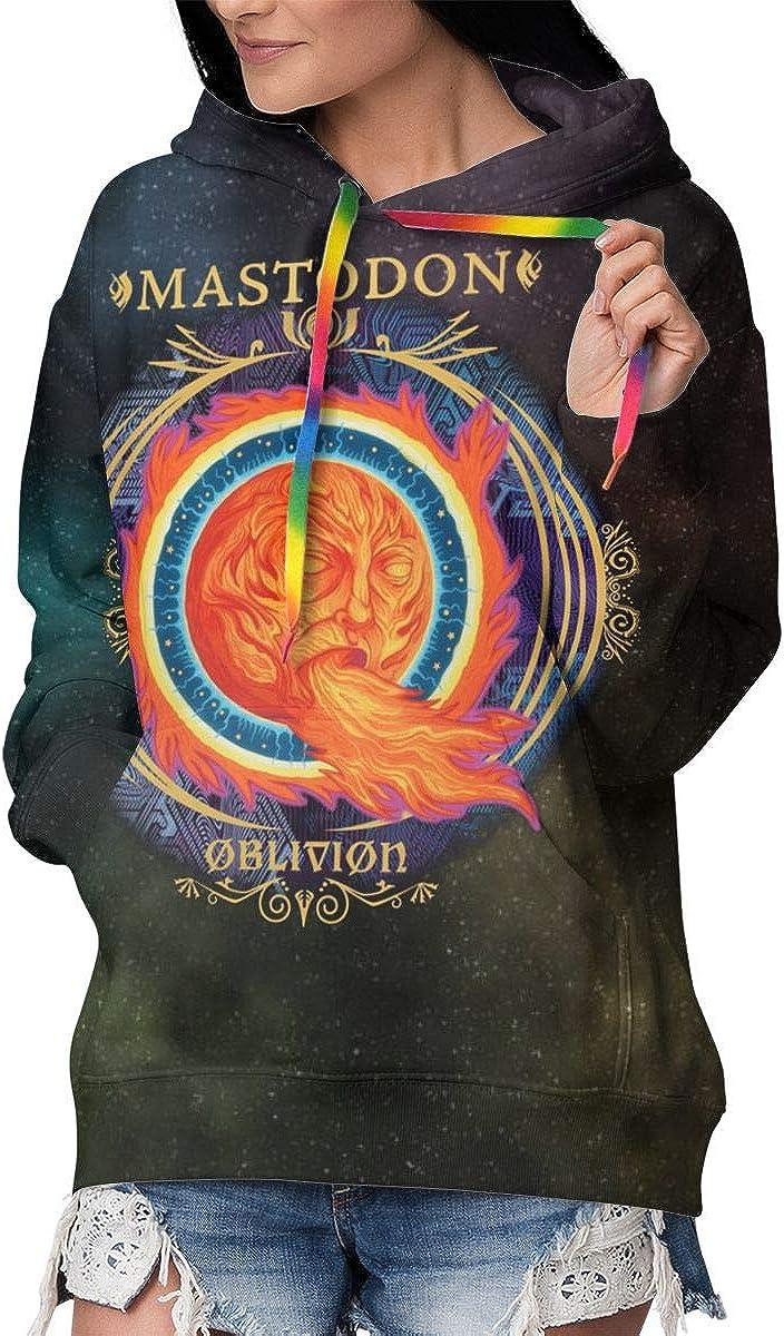 Mastodon Crack The Skye Womens Medium Thick Hoodies Sweatshirts Pullover