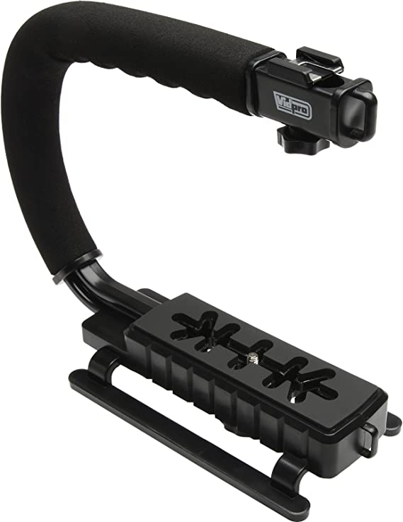Pro Video Stabilizing Handle Grip for Pentax Optio S60 Vertical Shoe Mount Stabilizer Handle