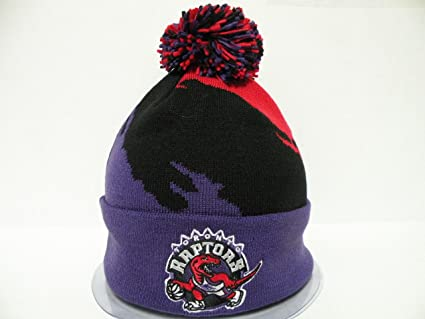 sports shoes 7b045 a4ccc Mitchell and Ness Authentic NBA Toronto Raptors Toque Cuffed ...