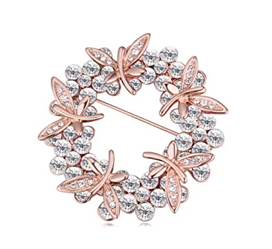 Amazon com: CNCbetter Women's Elegant Swarovski Elements