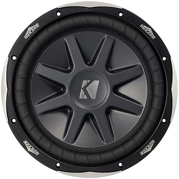 Amazon.com: Kicker 10cvx10-4 Ohm Round 10-Inch Subwoofer: Cell ...