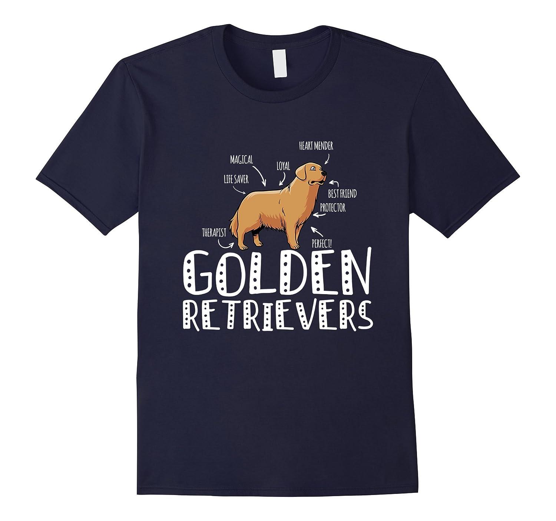 Magical Loyal Perfect Golden Retriever T-Shirt-Art