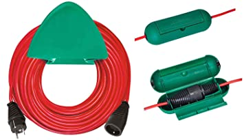 Brennenstuhl Rallonge électrique 40 m H05VV F 3G1 5 avec