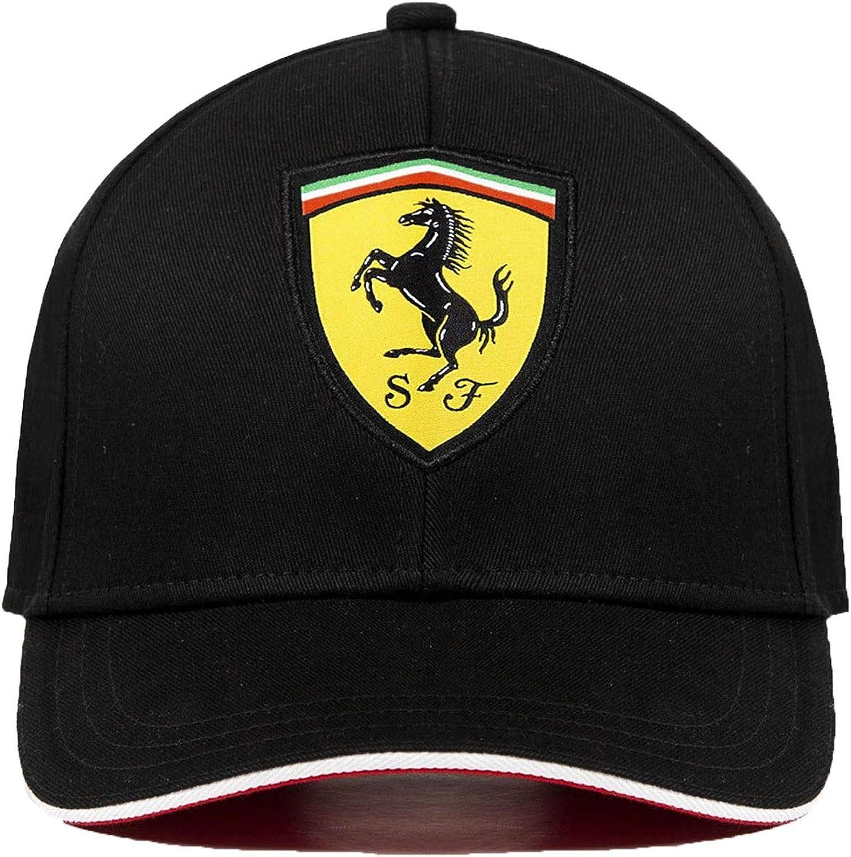 130161094-100 Scuderia Ferrari /® Casquette Baseball Classique Distributeur approuv/é Licence Ferrari Officielle