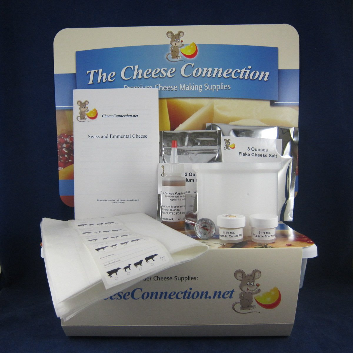 Swiss and Emmental Cheese Kit