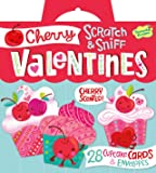 Peaceable Kingdom Cherry Cupcake Scratch and Sniff Super Valentines Card Pack