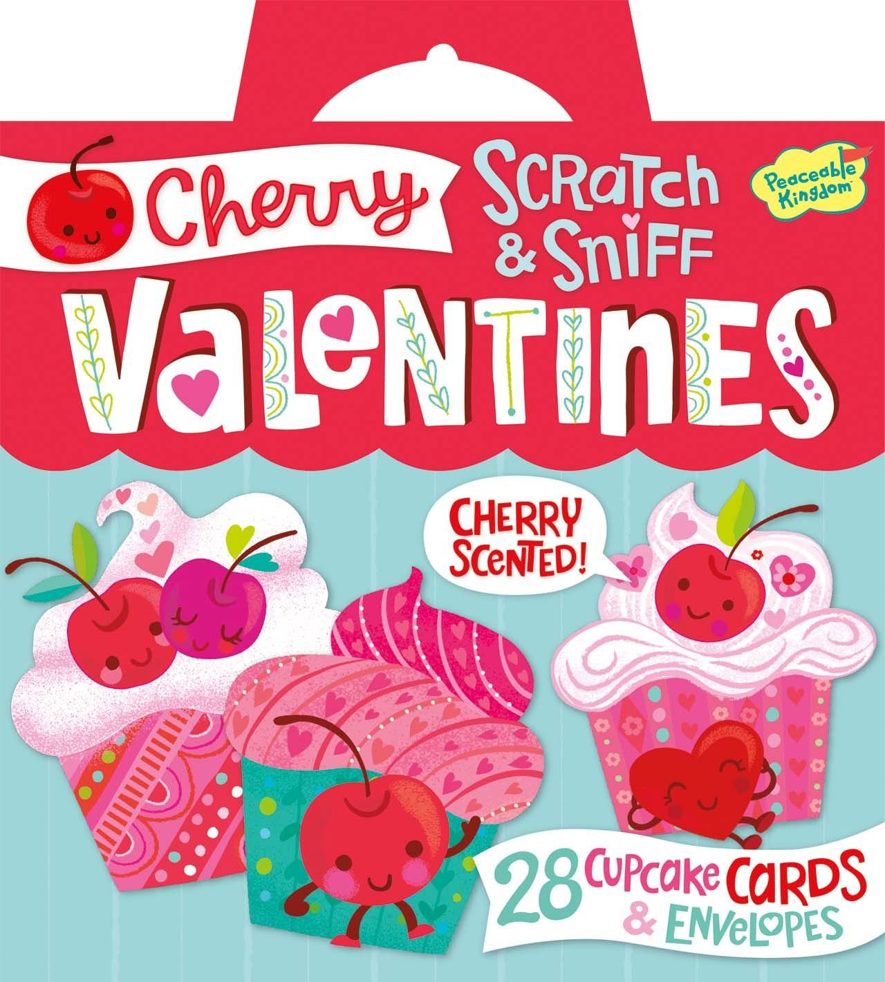 Amazoncom Peaceable Kingdom Cherry Cupcake Scratch  Sniff 28