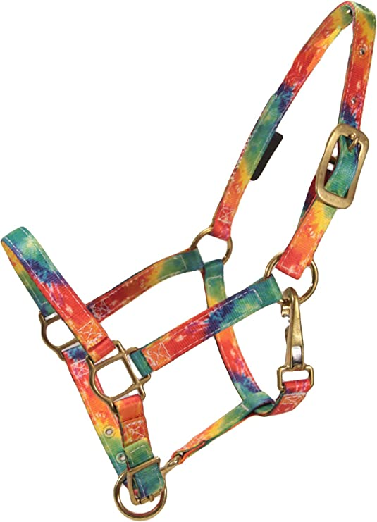 3-Ply Nylon Halter w// Tie Dye Design