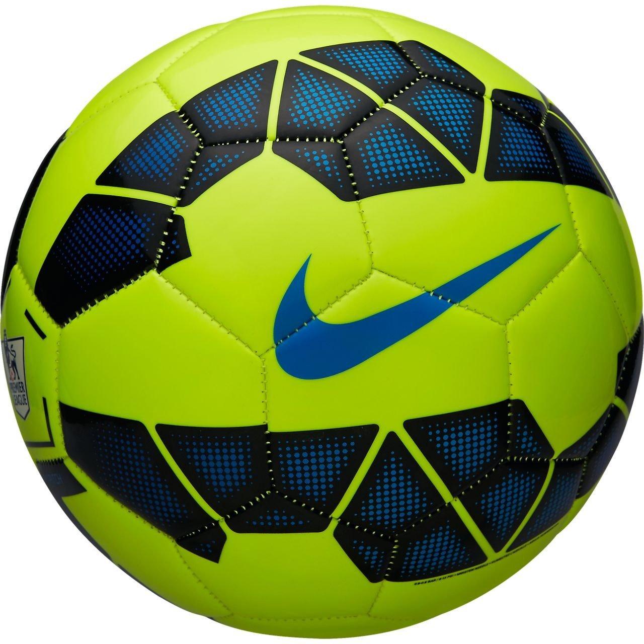 NikeサッカーボールピッチEPL B00JG6DJWUVolt/Black/Blue/Blue 5