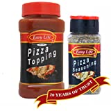 Easy Life Combo of Pizza Topping 350 g & Seasoning 25 g