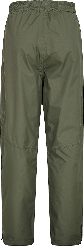 Pantalones de Breathable Acoplamiento Alineado Pantalones Grabados de Las Costuras Mountain Warehouse Agrimensores Impermeables para Hombre