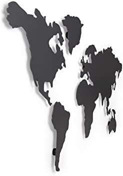 Umbra Mappit World Map Magnetic Wall Decor