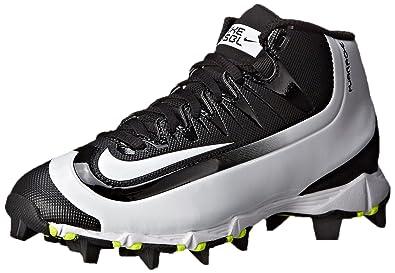 1bd4f2a81ffe Nike Boy s Huarache 2KFilth Keystone (GS) Baseball Cleat Black Volt White  Size