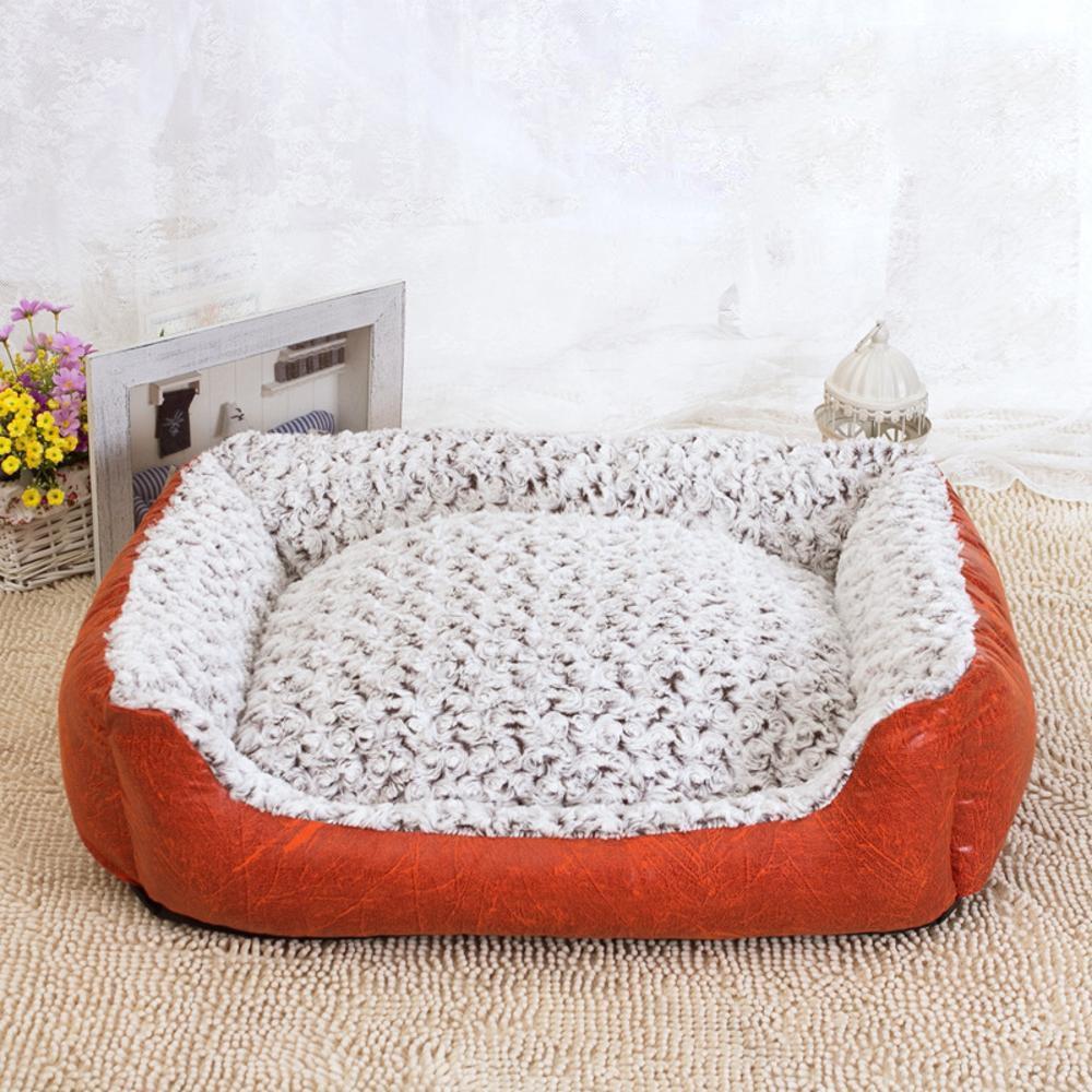 B 604519cm B 604519cm BiuTeFang Pet Bolster Dog Bed Comfort Cotton removable and washable pet litter Kennel